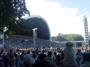Bühne des Sängerfestes