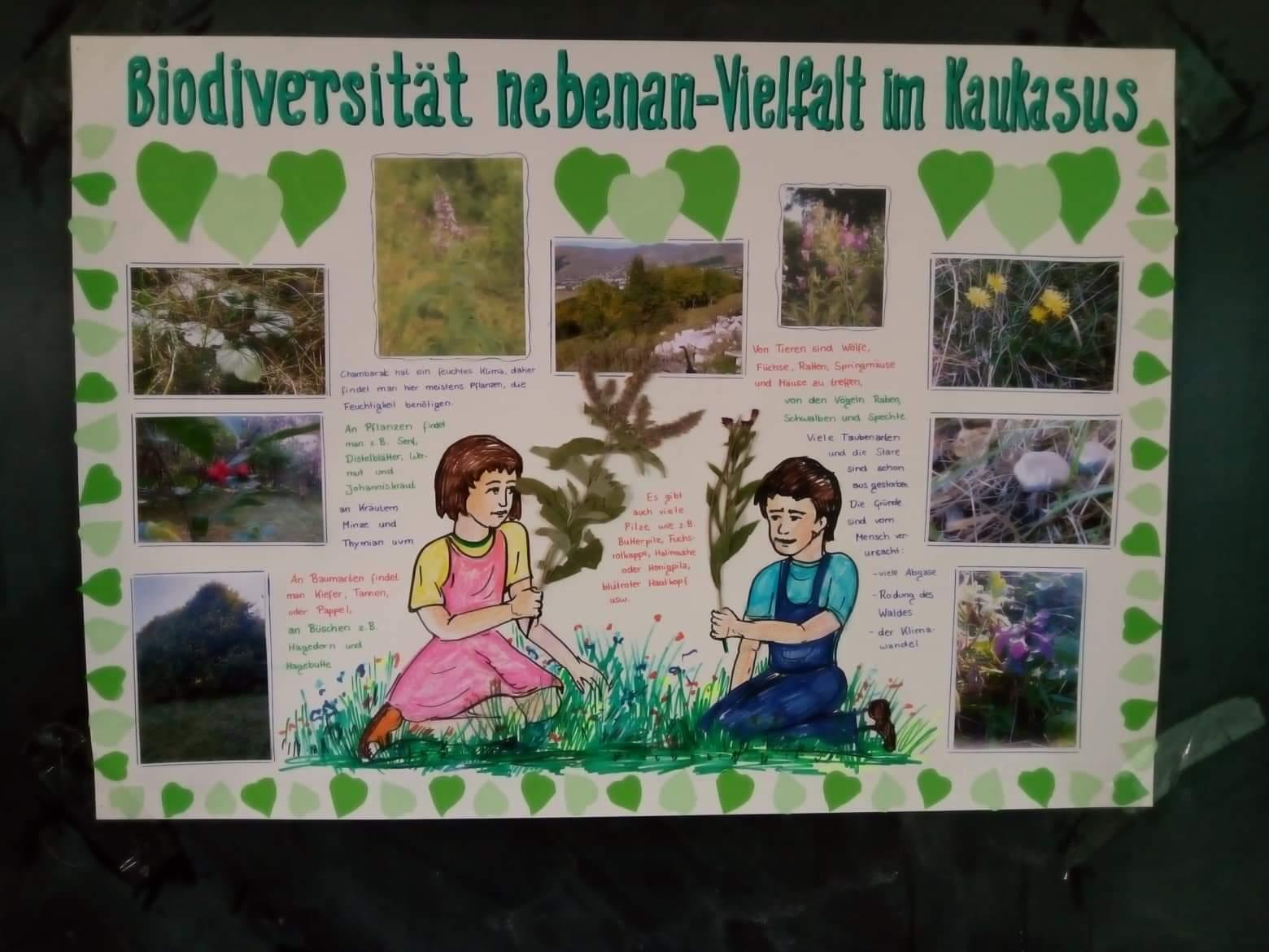 Biodiversität nebenan – Vielfalt im Kaukasus