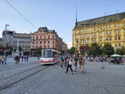 Der Freiheitsplatz - Dreh- und Angelpunkt der Altstadt.