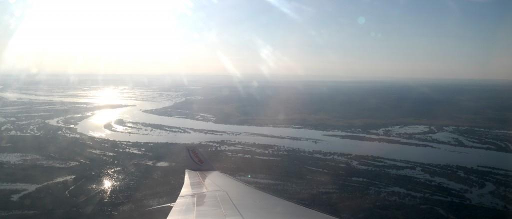 Überschwemmungen des Rio Paraguay