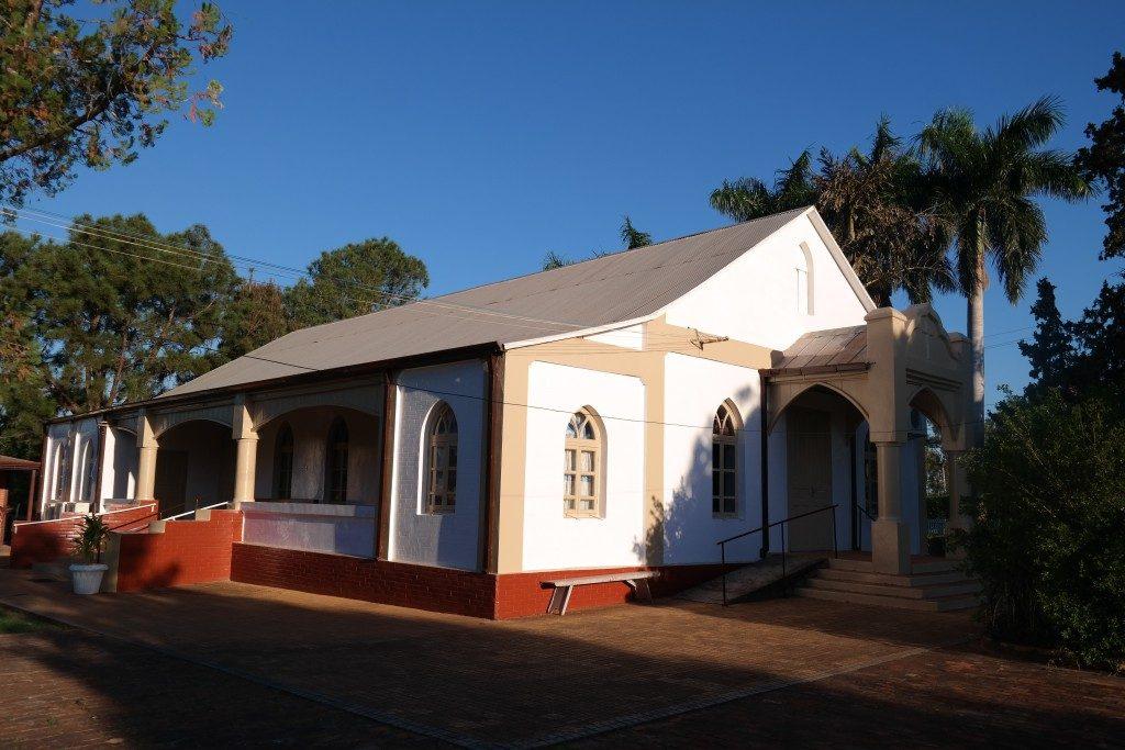 Mennonitische Kirche in der Kolonie Friesland