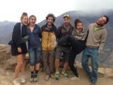 In Sneakern durch den Colca Canyon