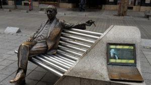 Einmal neben den Berühmten Komponisten Platz nehmen?