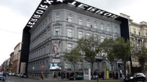 Museum welches über vergangenen Terror berichtet und über den Freiheitskampf der Ungarn