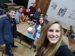 Poetry Slam Workshop in Novi Sad. Danke an alle die mitgemacht haben! Ihr seid super! :)