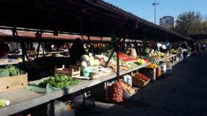 Markt ist jeden Morgen in Novisad