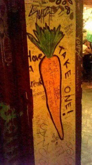 Und ...Karotten.