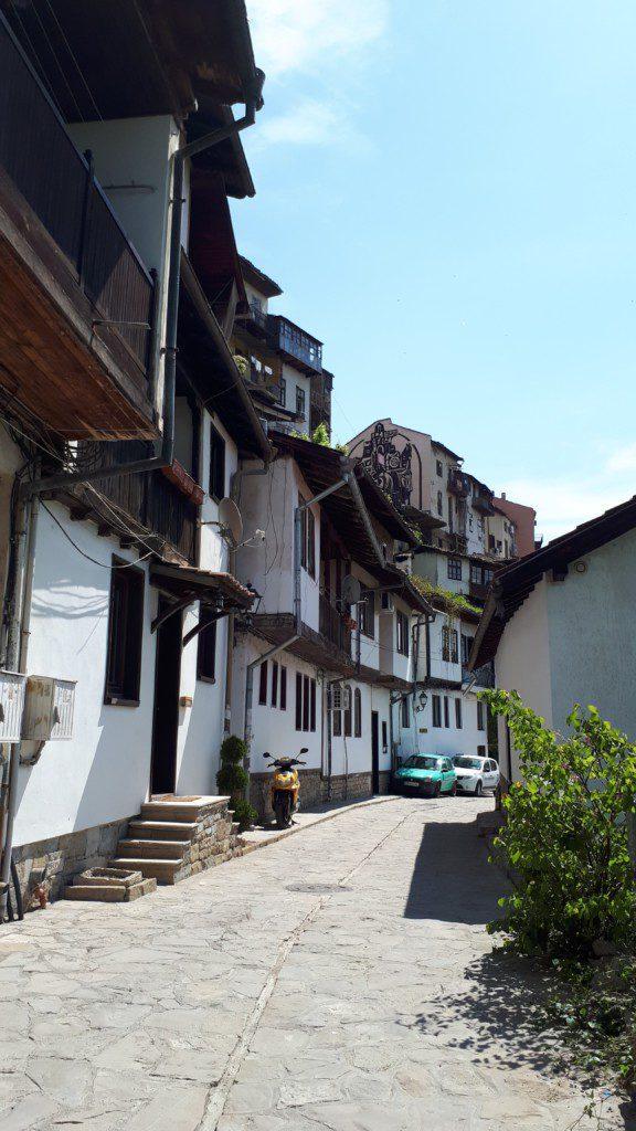 Häuser in Weliko Tarnowo