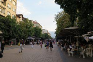 Vitosha Straße