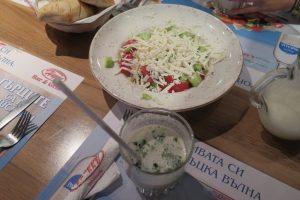 Schopska- Salat und Tarator