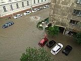 Hochwasser.