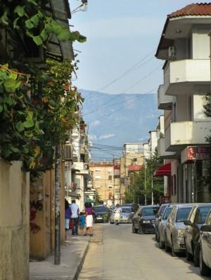 Tiranas Nebenstraßen