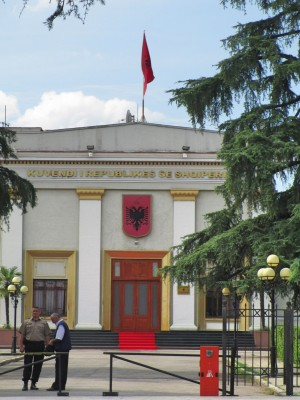 Albanisches Parlament