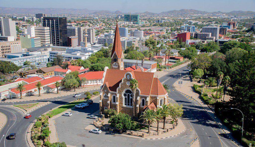 Das N steht für Namibia