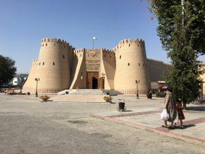 DIe Zitadelle in der sich das Historical Museum of Sughd Region befindet